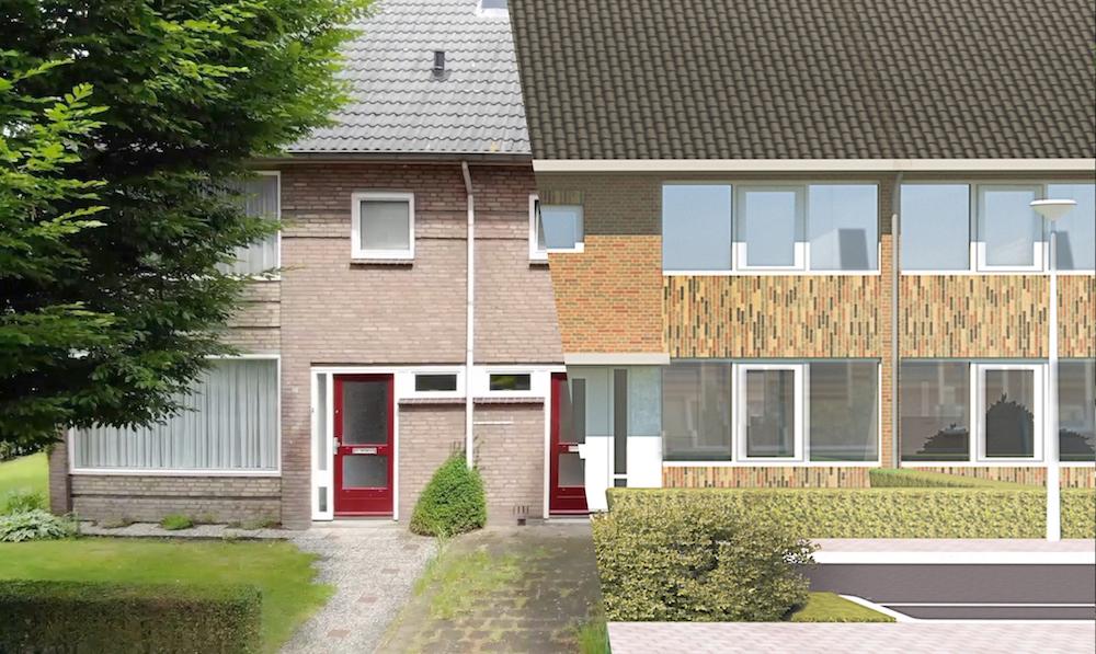 Verduurzamen 48 woningen Houtenhoek – Deurne