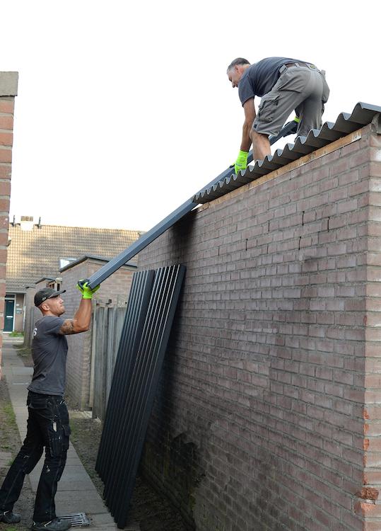 Nieuwe 'daken' in Helmond