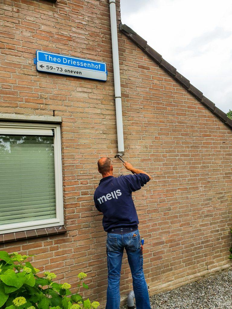 Planmatig gevelonderhoud voor 55 woningen van Woonpartners