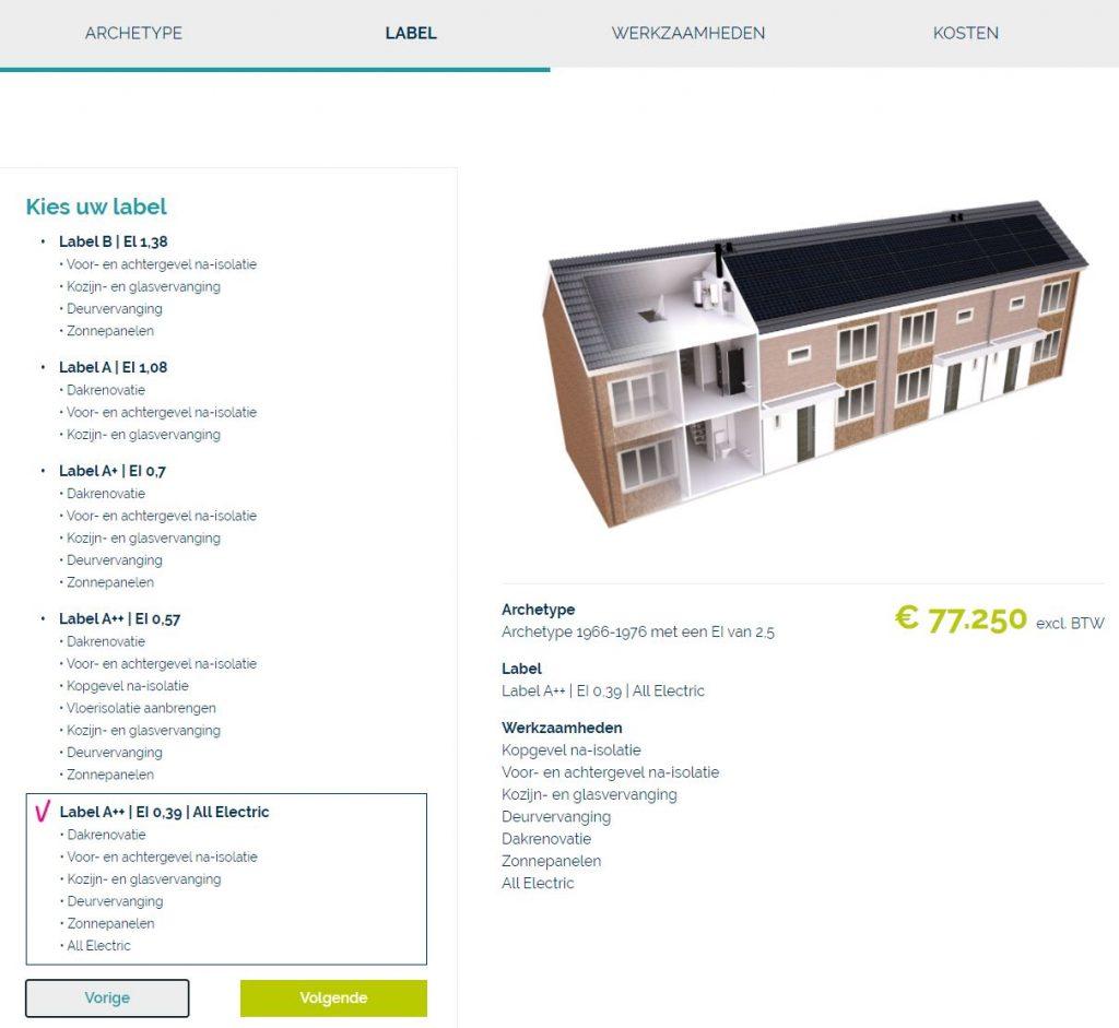 Vernieuwde configurator op onze website