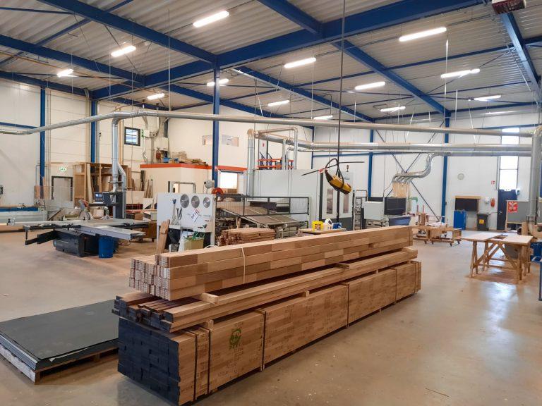 De timmerfabriek als ondersteuning aan onze renovatie- en onderhoudsprojecten