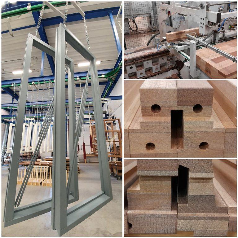 Het eerste circulaire kozijn is geproduceerd in onze timmerfabriek