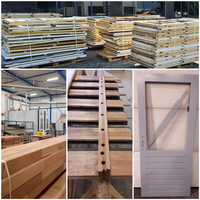 Goed Wonen Gemert kiest voor gerecycled hout bij vervangen deuren