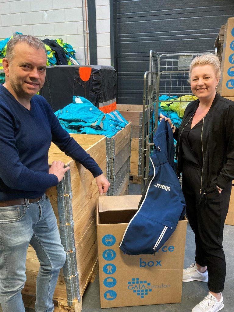 Wij recyclen onze werkschoenen, werkkleding en PBM's