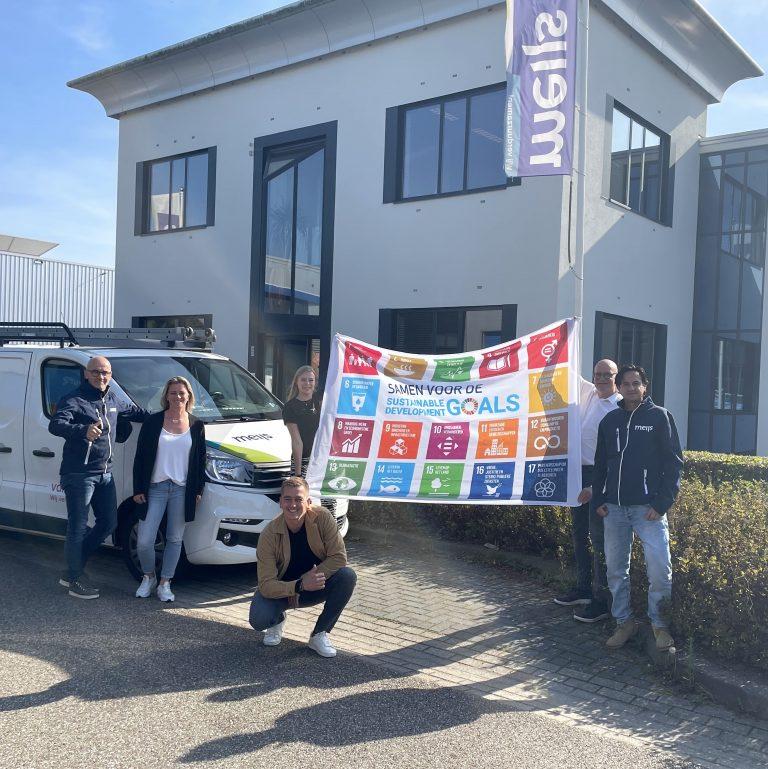 SDG Action Days: onze vlag hangt uit!