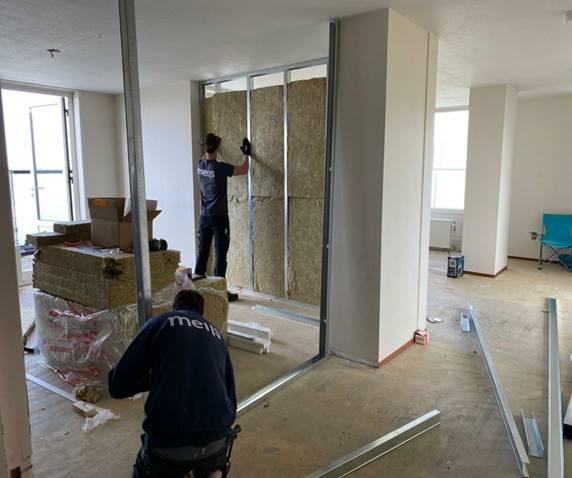 Uniek project: van penthouse naar drie studio's in twee weken